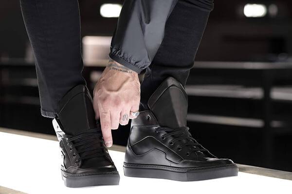 Made in Italy custom sneakers Motobo Project brand