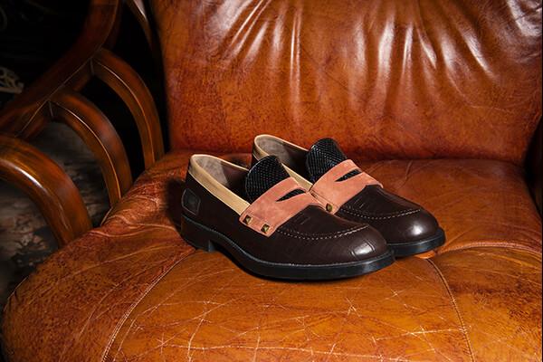 Made in Italy custom sneakers COGNAC brand