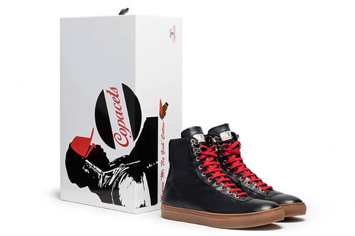 Copacets-Gum customized made in Italy sneakers by Marcus Cotton