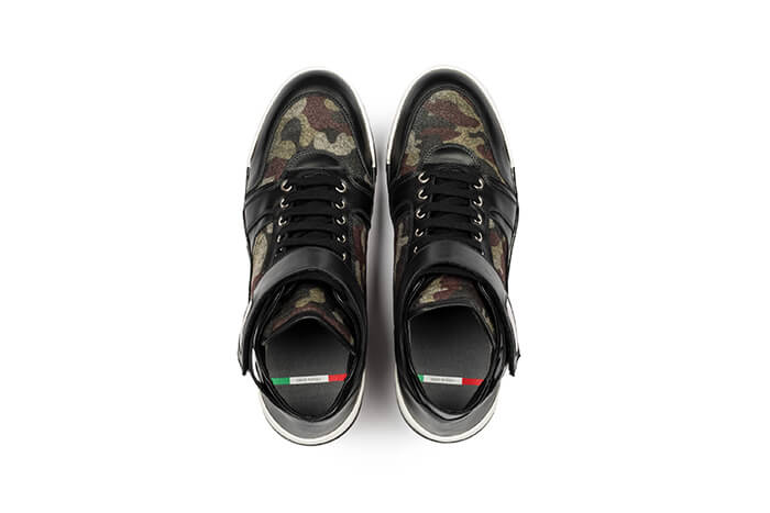 Go customized made in Italy sneakers by Dennard Johnson
