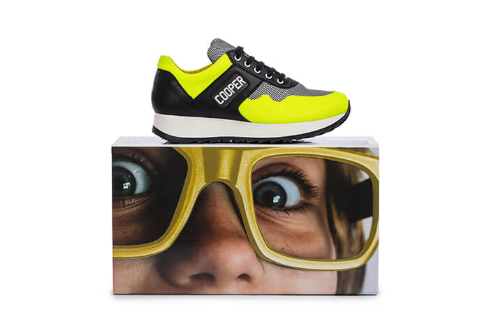 TOPKIDS customized made in Italy sneakers by James Barry