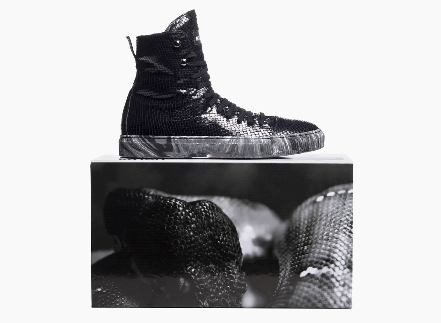 HOLLYNN customized made in Italy sneakers by Denroy Gayle