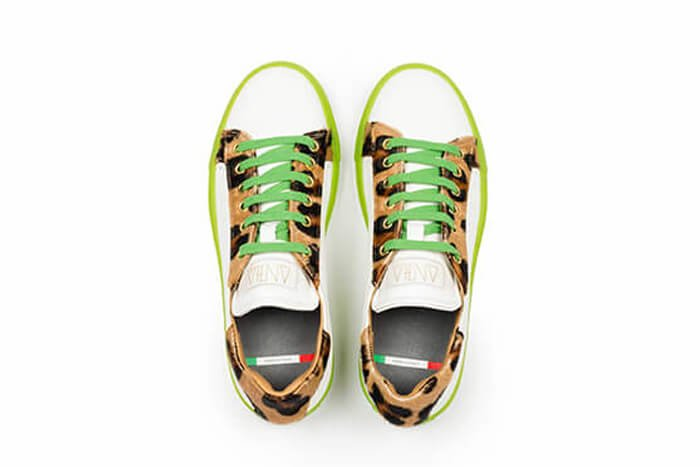 Neli customized made in Italy sneakers by Nele De Groodt