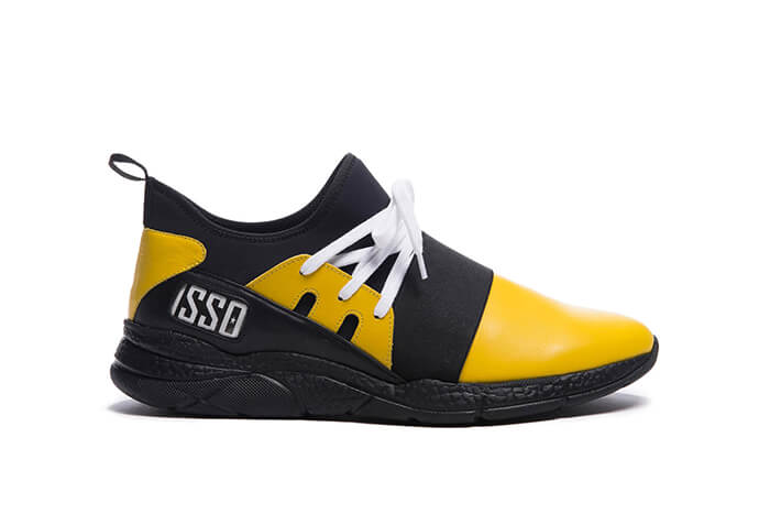ISSO V27 customized made in Italy sneakers by Toure Ismael