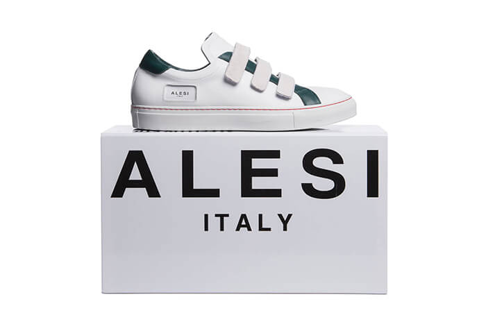 ALESI LUX STRAP customized made in Italy sneakers by Lonanthony Parker