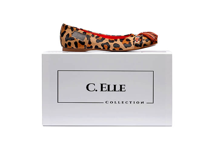 C. ELLE customized made in Italy sneakers by Cathryn Lindsey