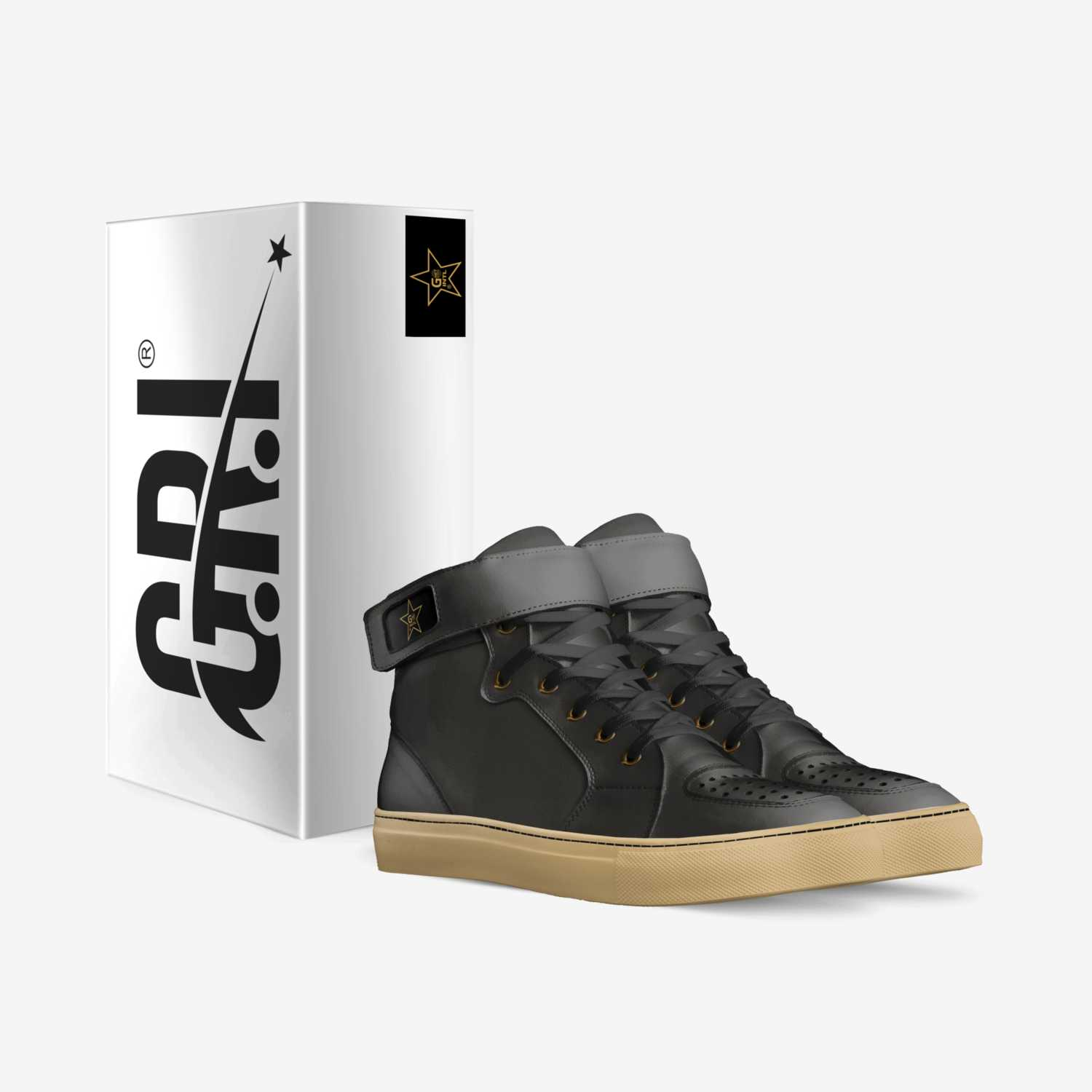 Ghet2Rock INTL  custom made in Italy shoes by Orlando Penny | Box view