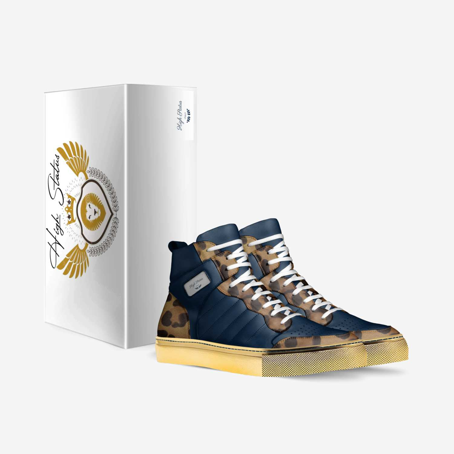 High Status custom made in Italy shoes by Ernest Ruffin | Box view