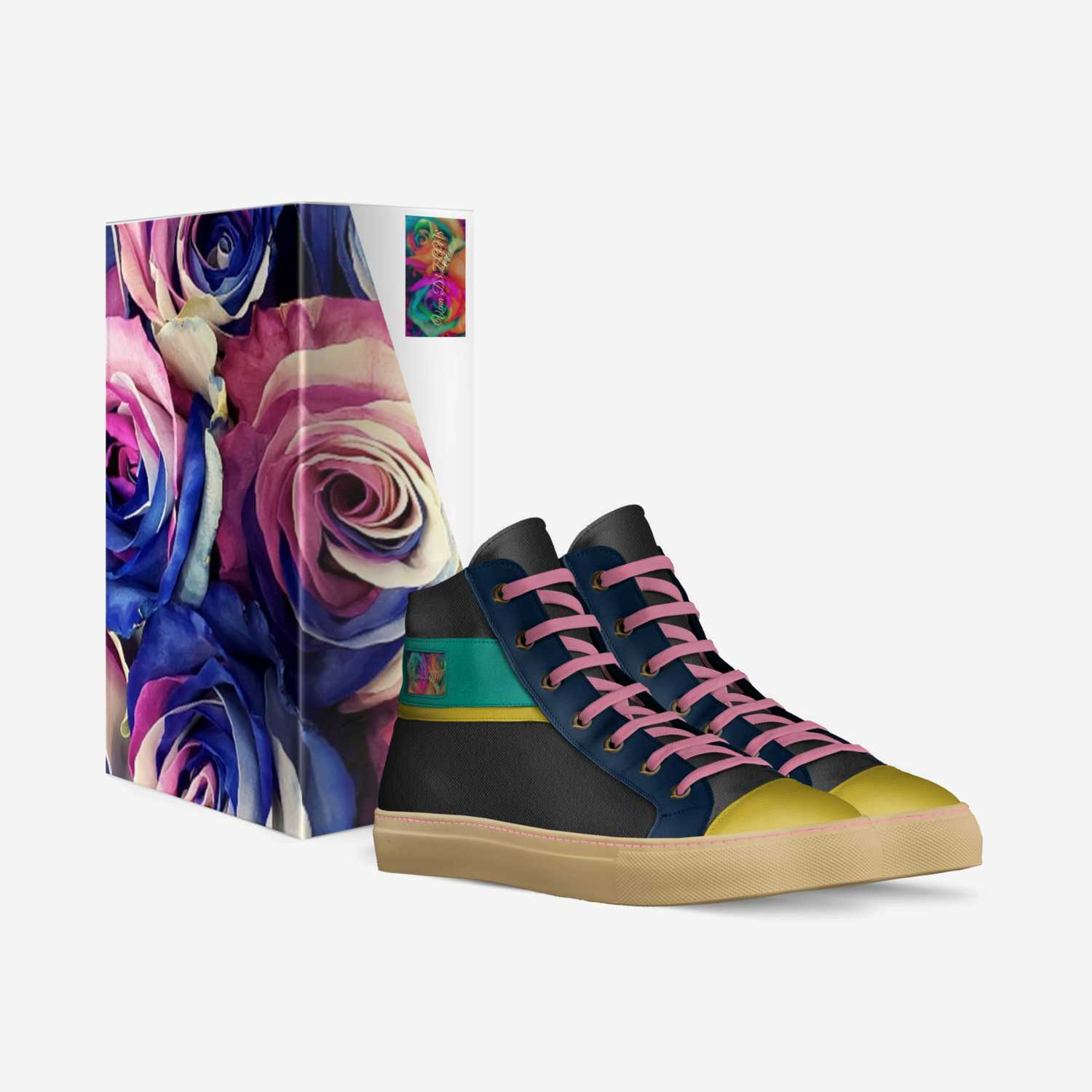 Pandemon¡um custom made in Italy shoes by Carrvon Taylor | Box view