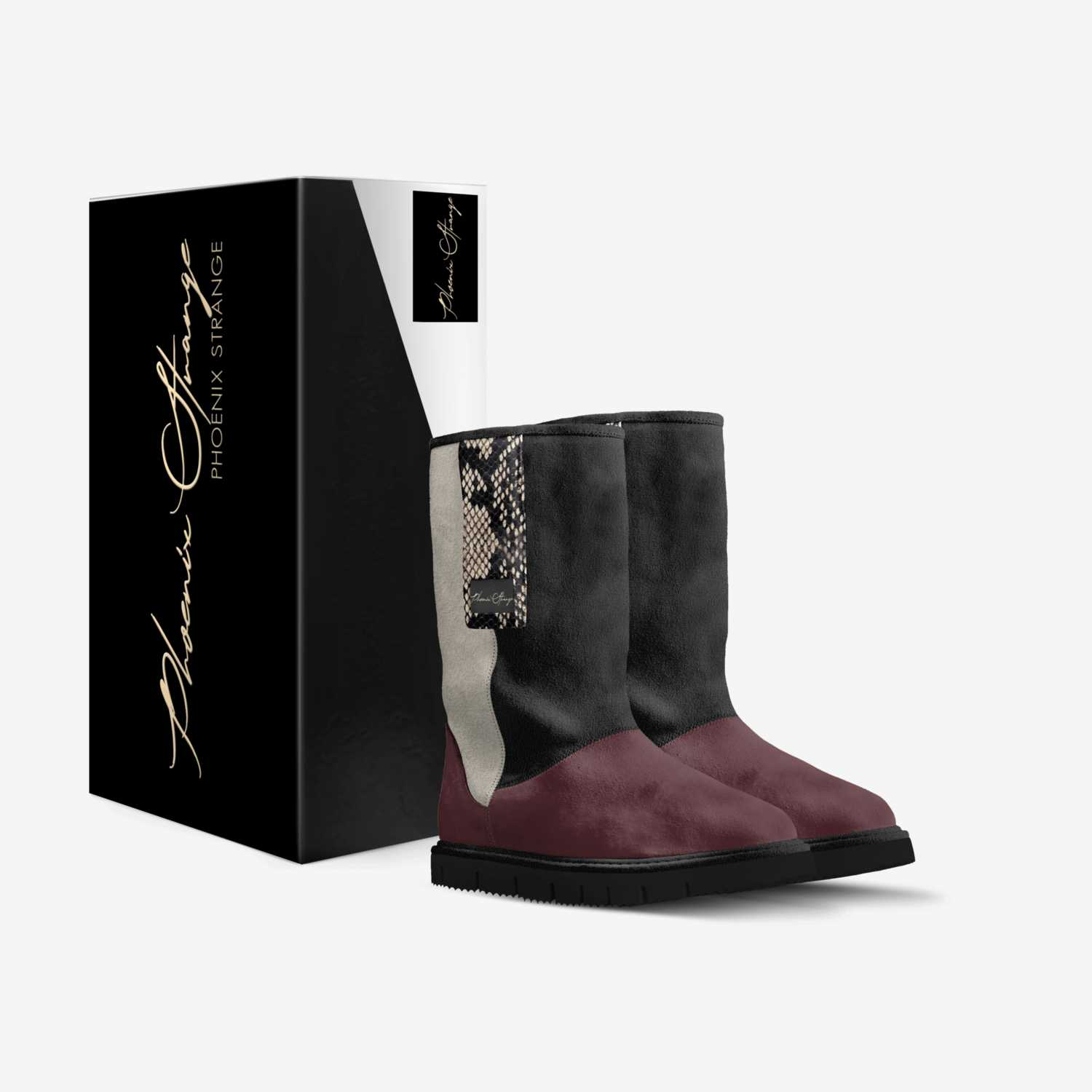 Anjelica custom made in Italy shoes by Phoenix Strange | Box view
