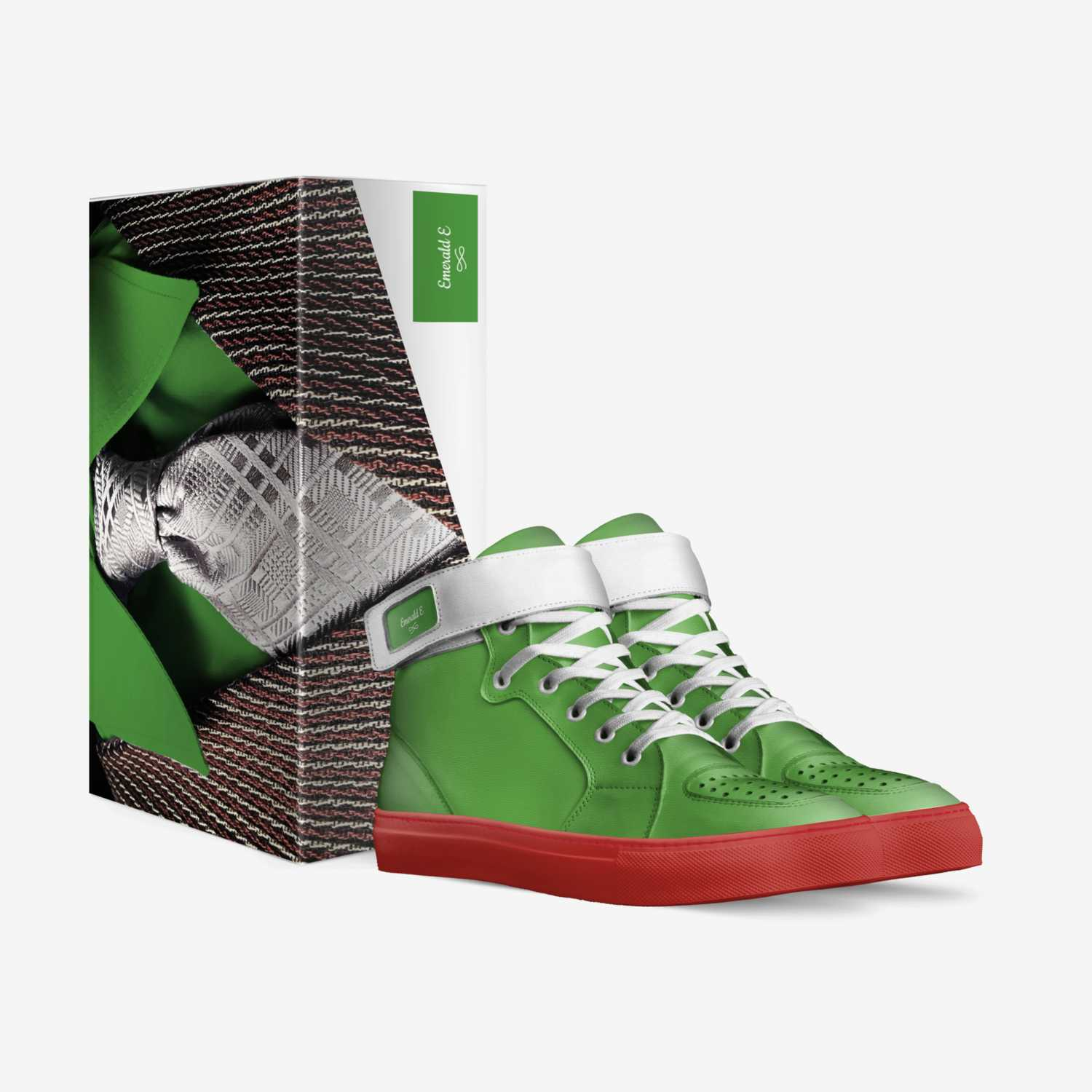 Emerald E custom made in Italy shoes by Ernest Sampson Iii | Box view