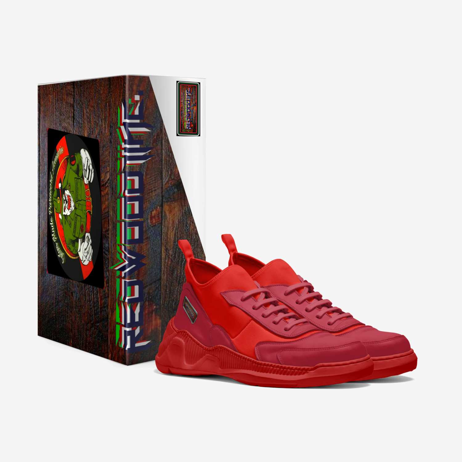 INCENDIARY  custom made in Italy shoes by Ronald Roberts | Box view