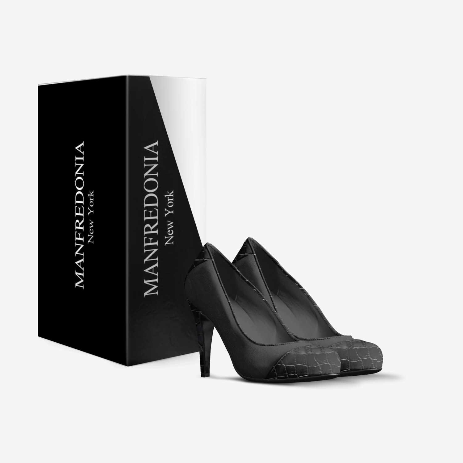 MANFREDONIA custom made in Italy shoes by Anthony Manfredonia | Box view