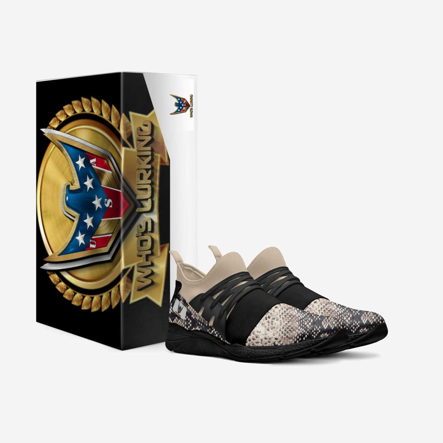 who's lurking custom made in Italy shoes by Jvon Koo | Box view