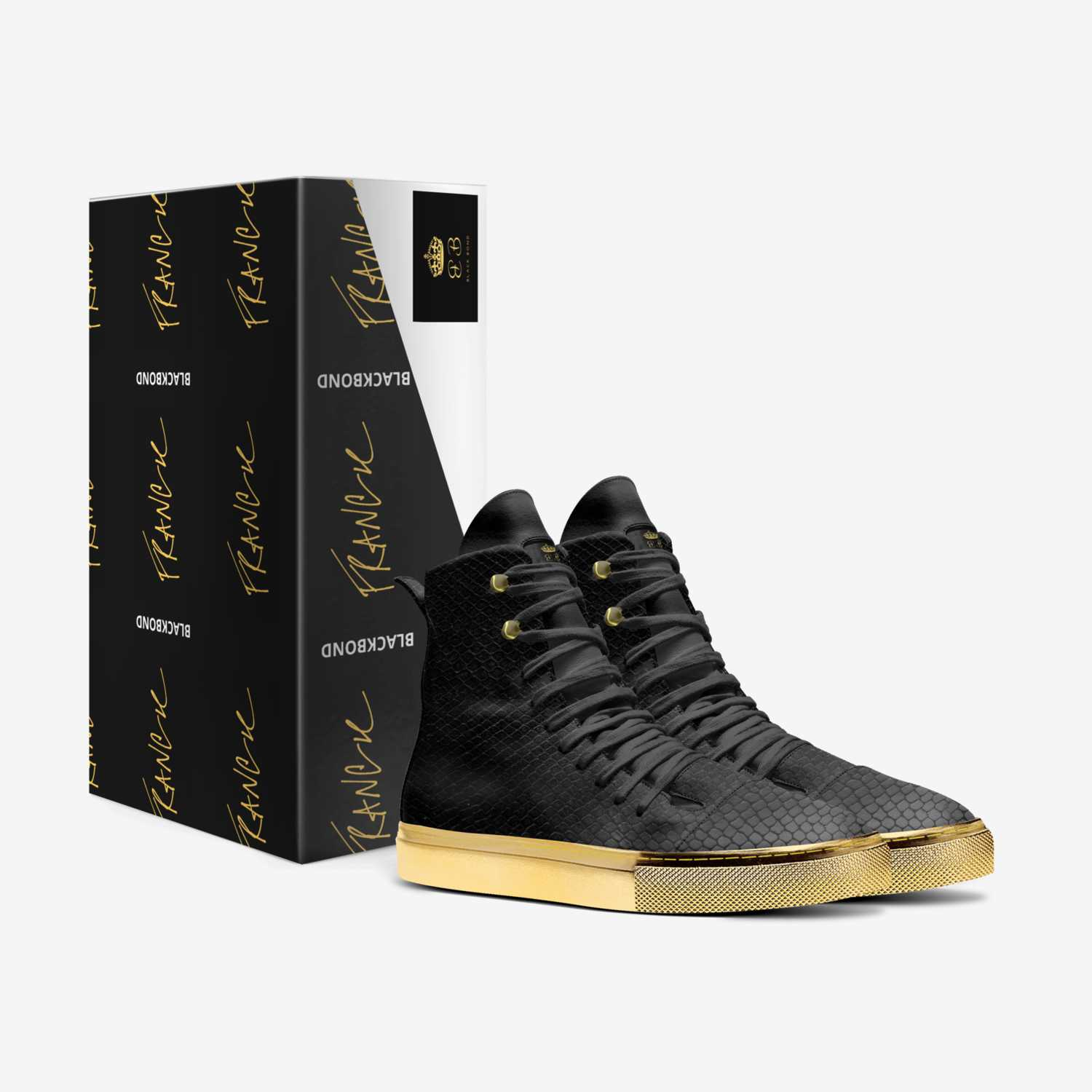 BLACK BOND GOLD custom made in Italy shoes by Black Bond | Box view