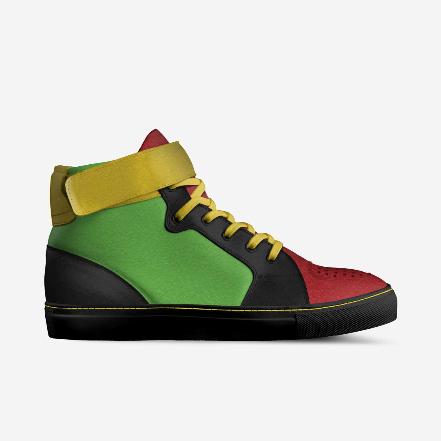 420 custom made in Italy shoes by Katherine Williams | Side view