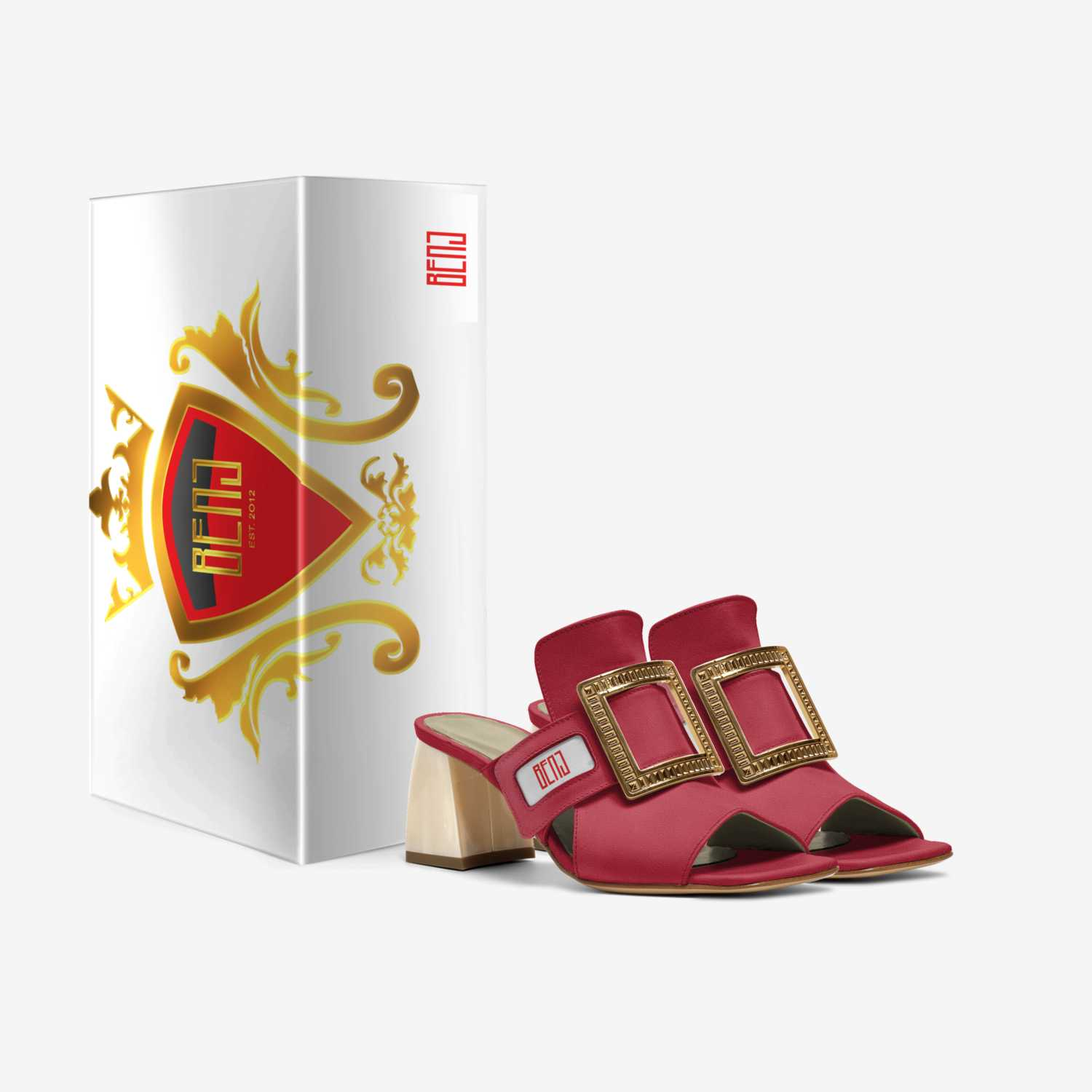 BENJ custom made in Italy shoes by BENJ-URBAN APPAREL. SINCE.2012 | Box view