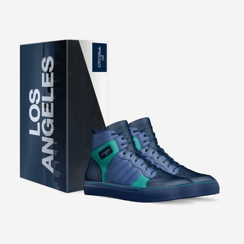 NIPSEYHussle custom made in Italy shoes by Deneanellis Ellis | Box view