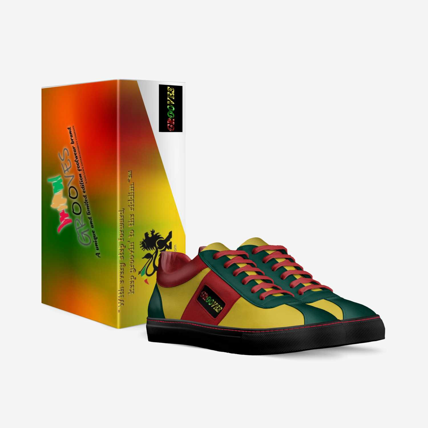 H.I.M. EDITION  custom made in Italy shoes by Secundino Martinez | Box view