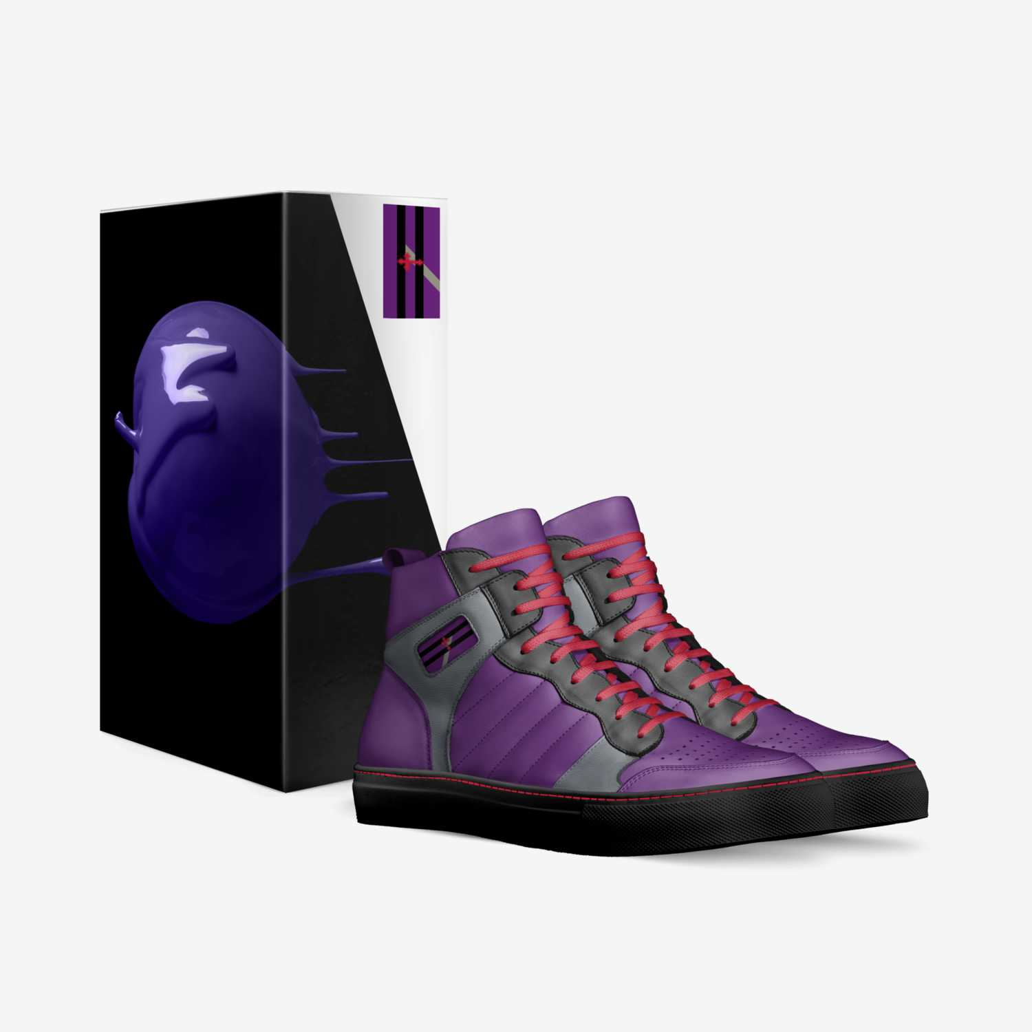 Stratton custom made in Italy shoes by Tyler Hibler | Box view