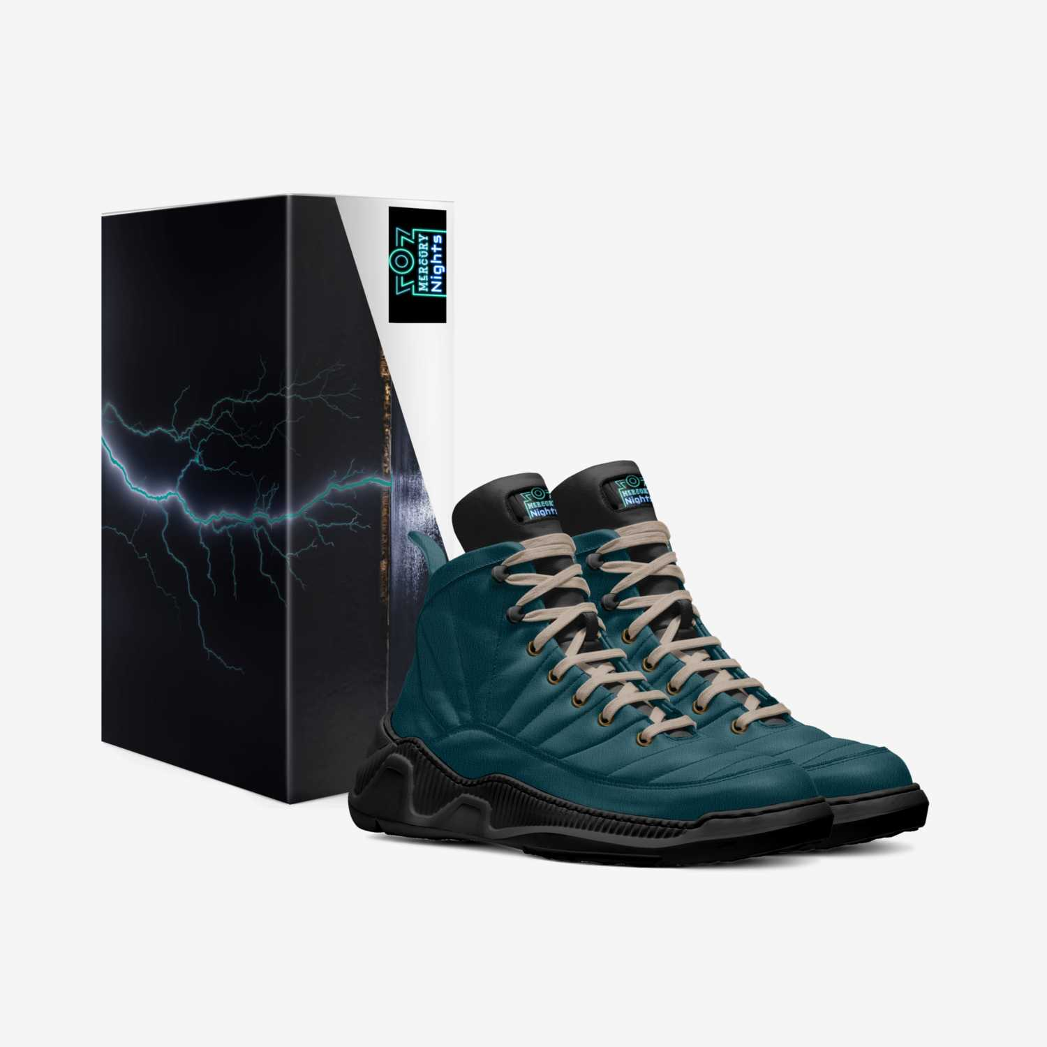 Mercury Nights custom made in Italy shoes by Charles Harewood Jr | Box view