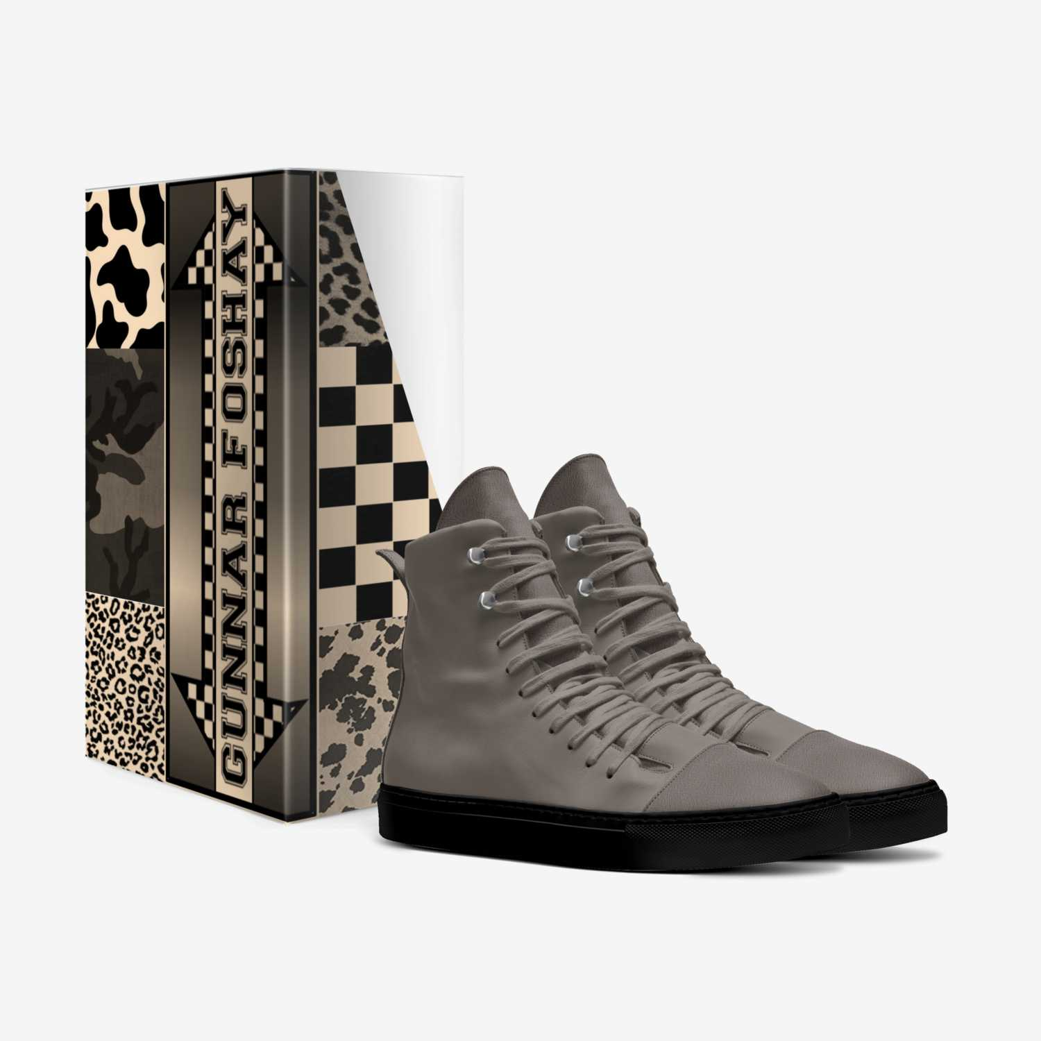 GUNNAR FOSHAY custom made in Italy shoes by Madison L. Mobley | Box view