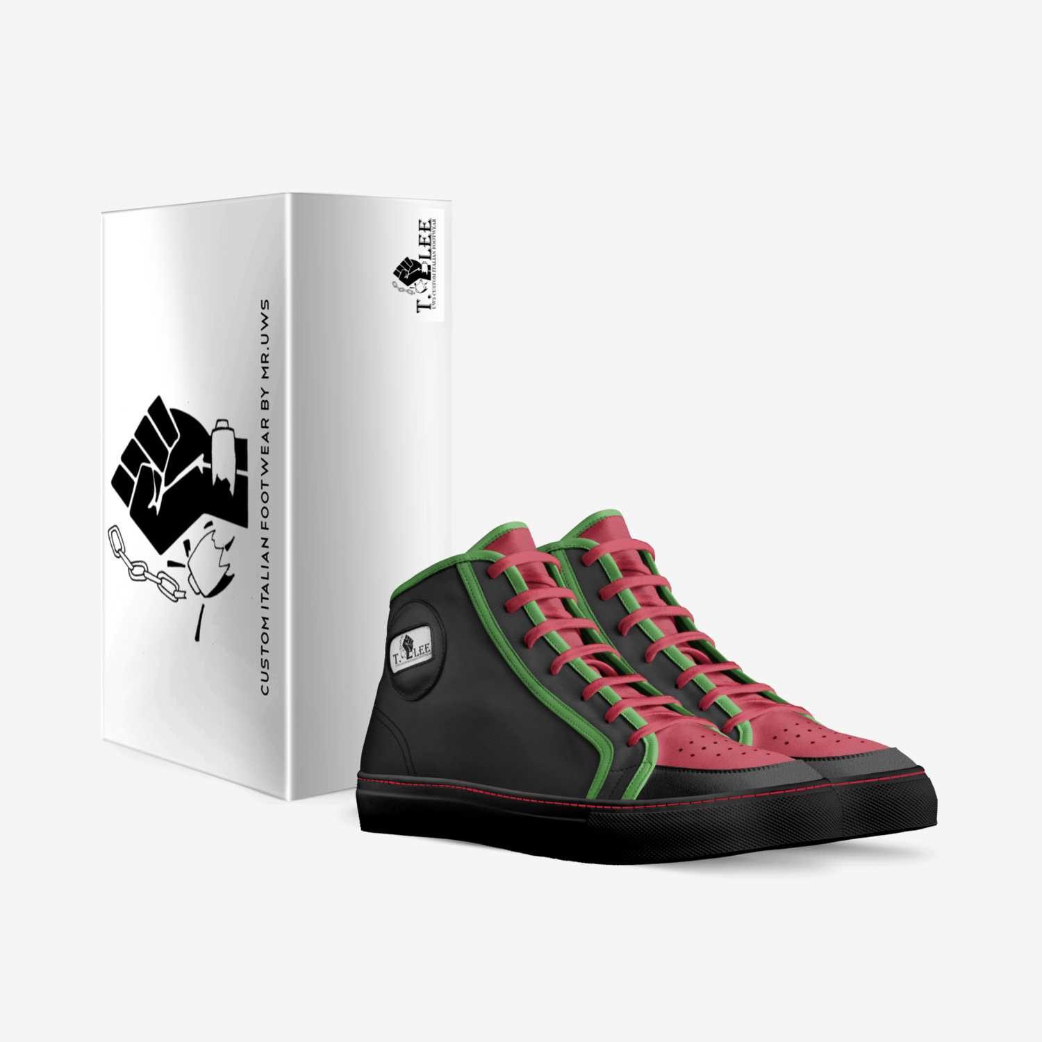 T Lee's custom made in Italy shoes by Urbanwallstreet Earl   Box view