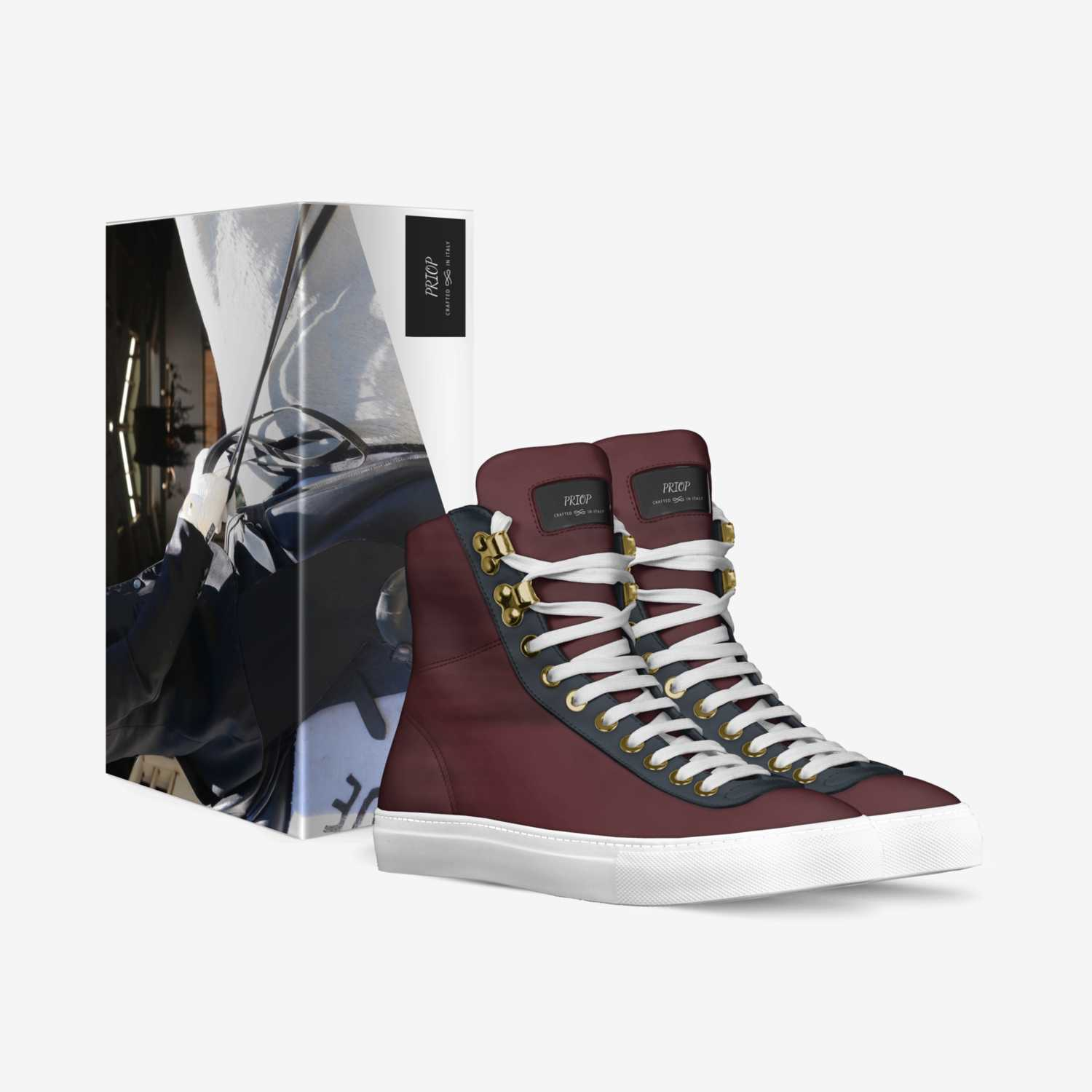 PRIOP custom made in Italy shoes by Thepriopgroup.riddick | Box view