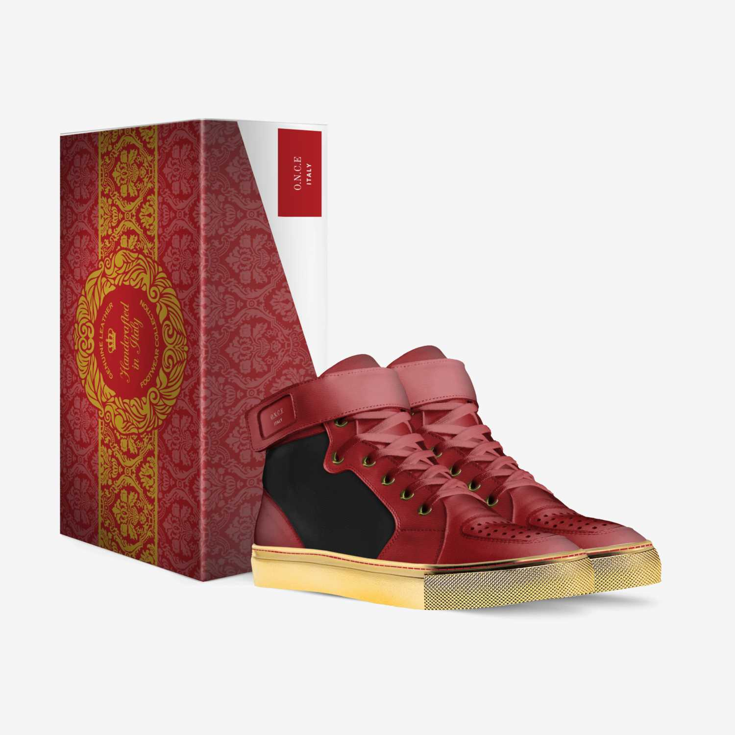 O.N.C.E custom made in Italy shoes by J2 | Box view