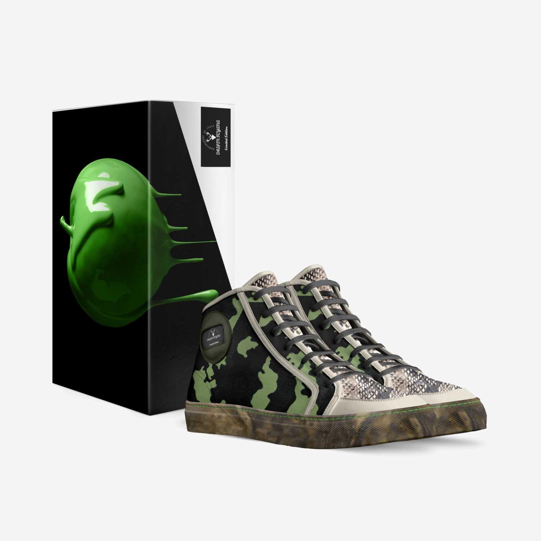 DRIPIN FLYANA custom made in Italy shoes by Shanandoah Jones | Box view