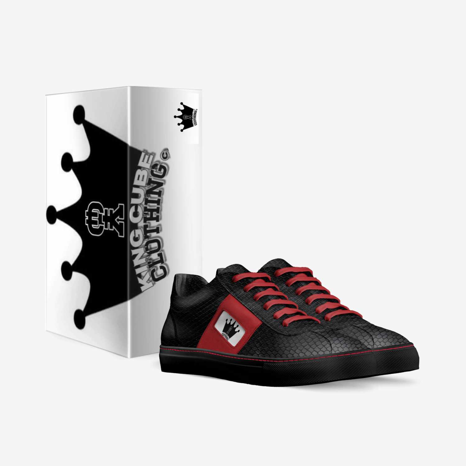King Cube II custom made in Italy shoes by Vincent West | Box view