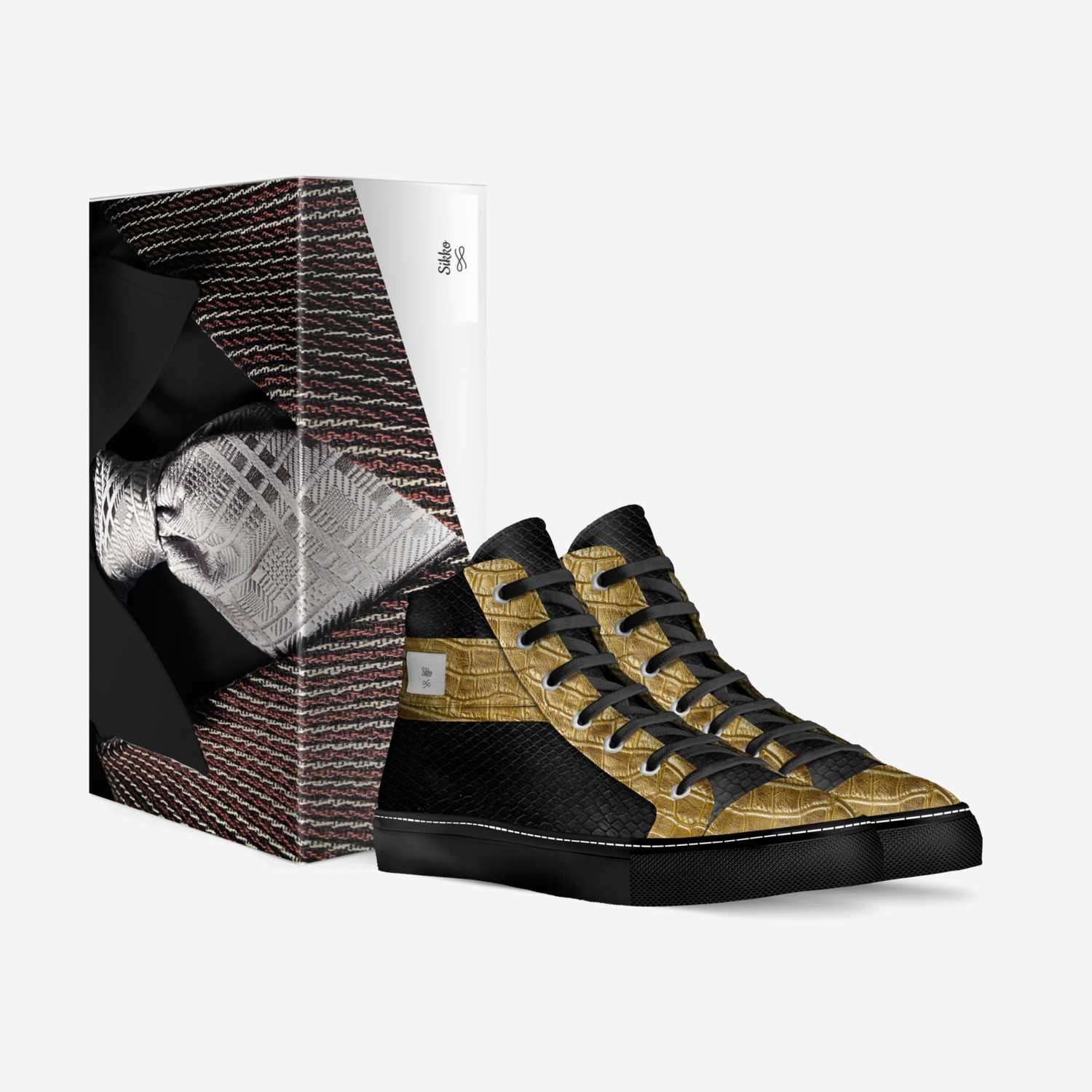 Sikko custom made in Italy shoes by Nikita Seals | Box view