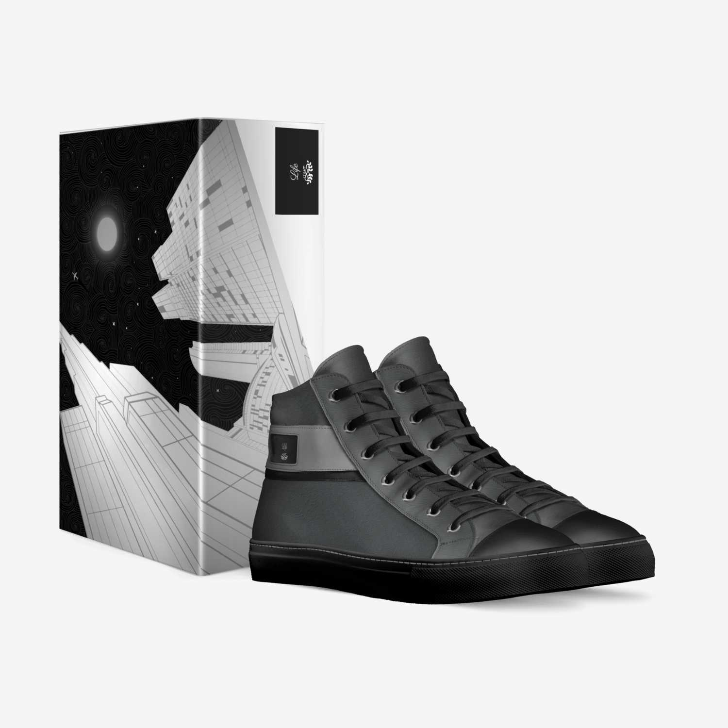 Junior custom made in Italy shoes by Rayfield Coles | Box view