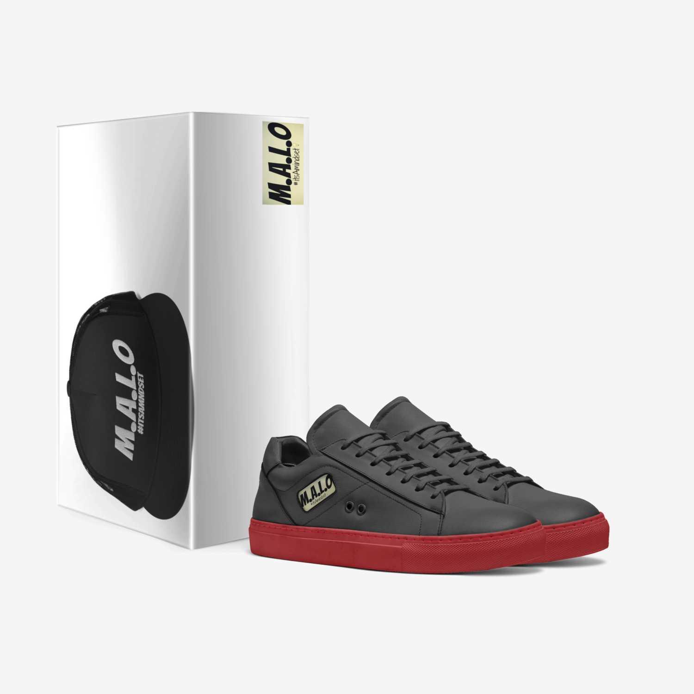 #itsamindset custom made in Italy shoes by Robert Kasitati   Box view