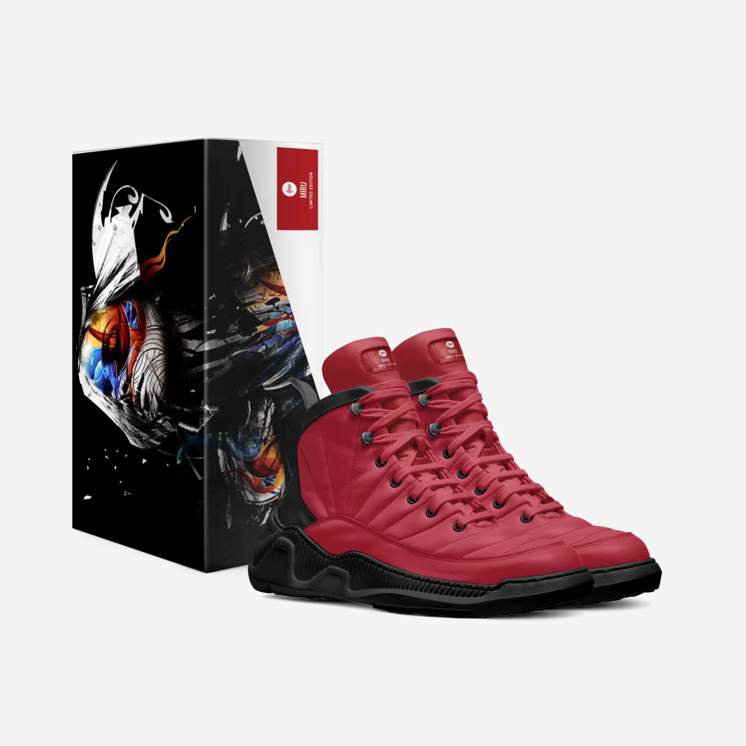 MIRU custom made in Italy shoes by Shawnkyle Kyle Thomas-brooks | Box view