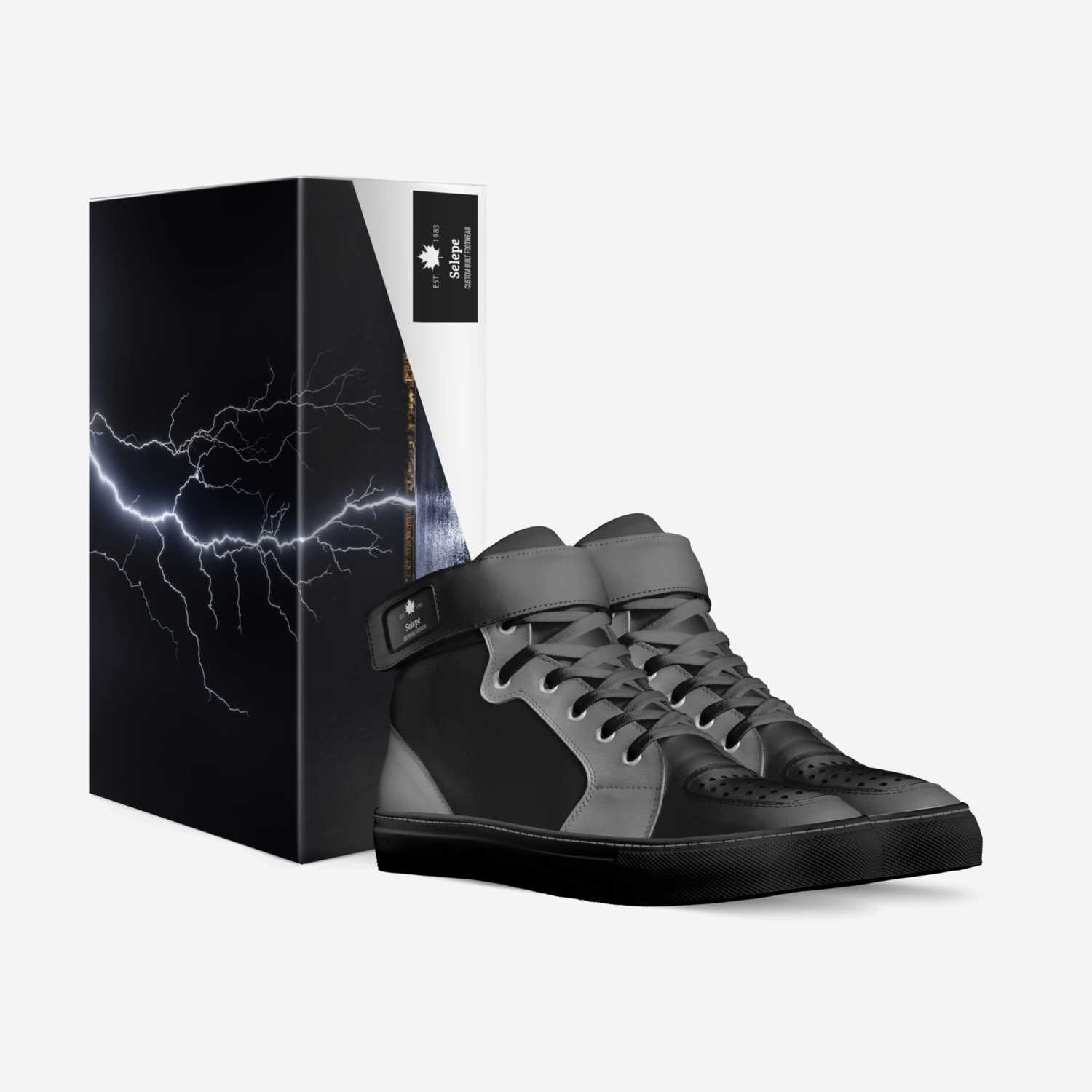 Eselpe custom made in Italy shoes by Steven Poindexter | Box view