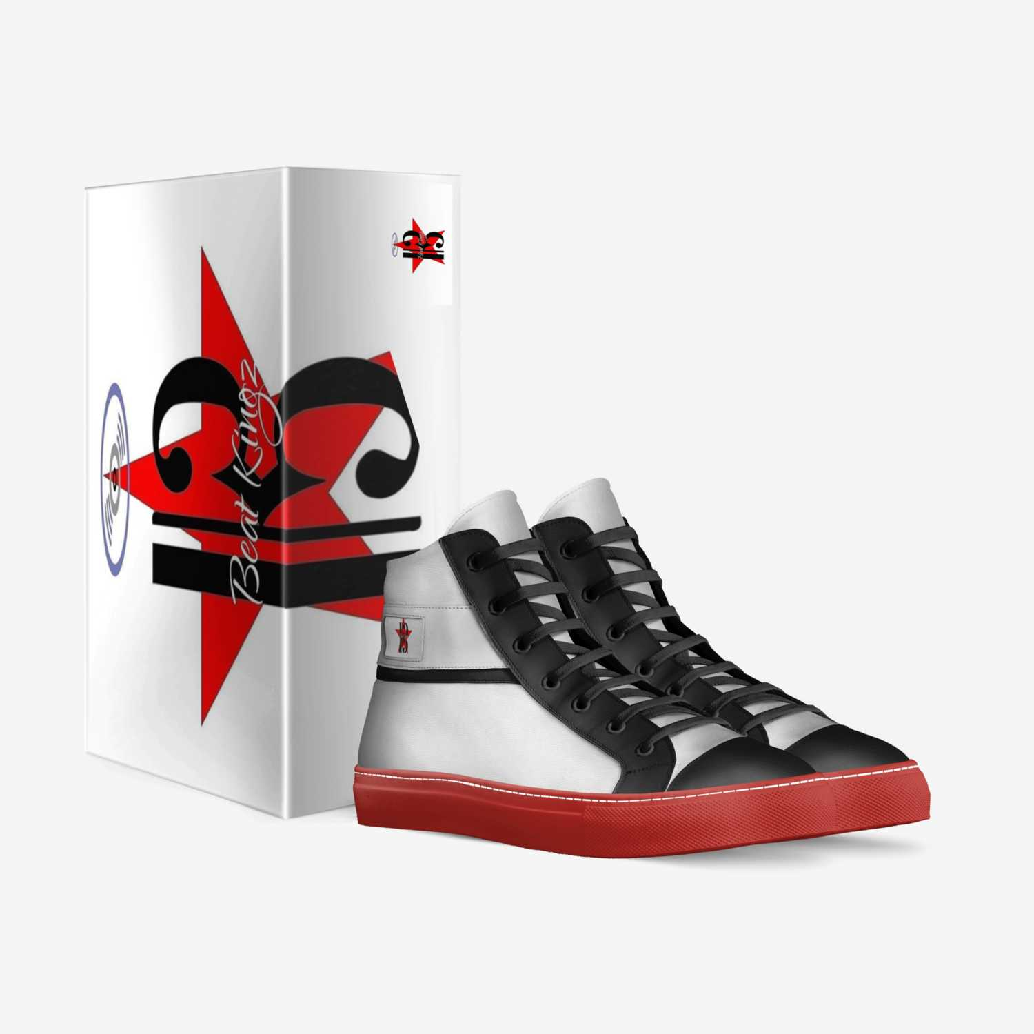Beatkingz custom made in Italy shoes by Carlos Scott | Box view