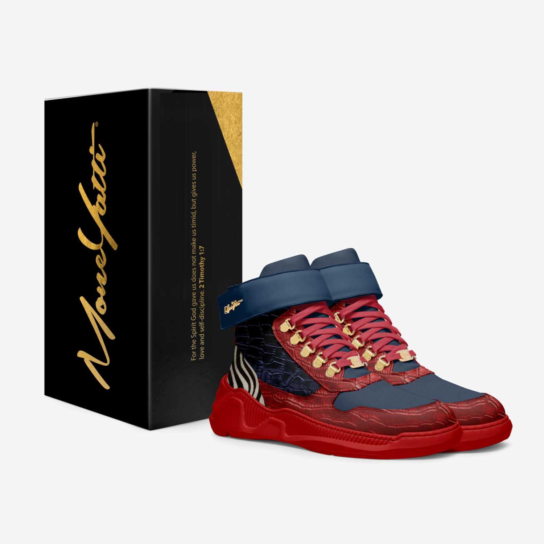 Moneyatti Trap51 custom made in Italy shoes by Moneyatti Brand | Box view