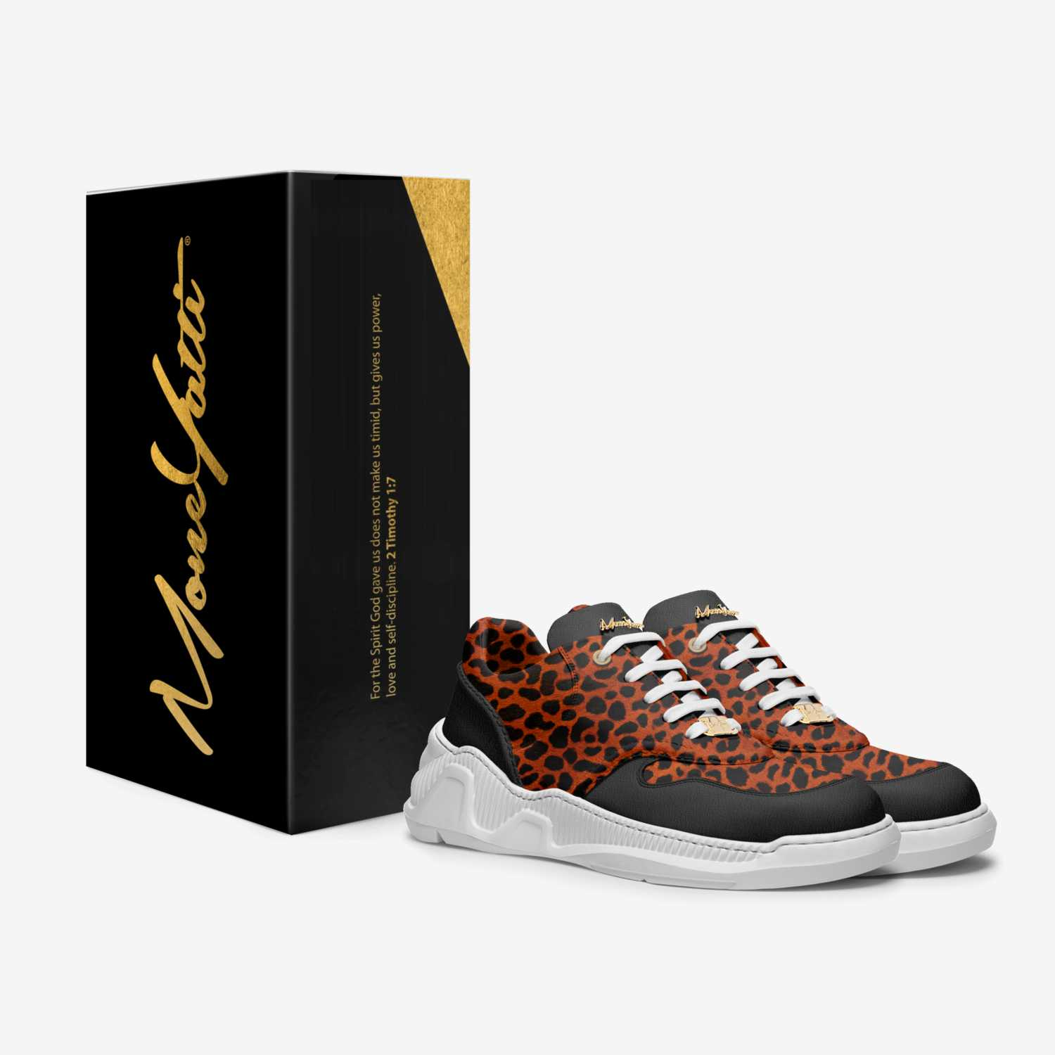 Moneyatti Miller60 custom made in Italy shoes by Moneyatti Brand | Box view