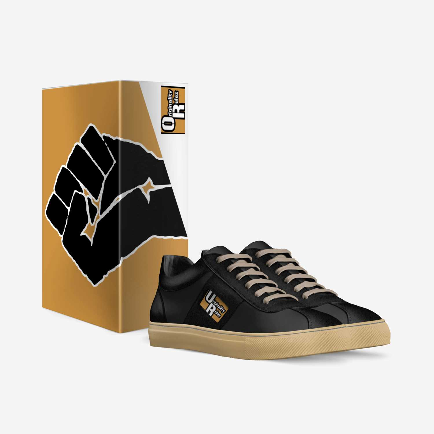 O.R. Originals '20 custom made in Italy shoes by Ric Rulez | Box view