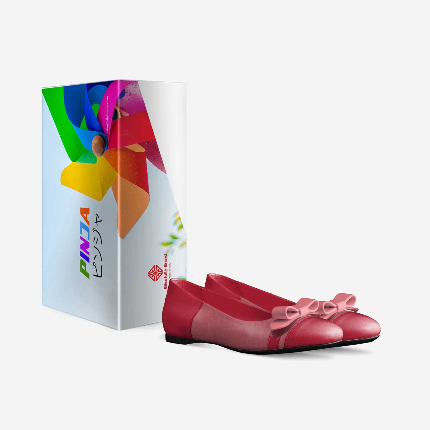Pinja custom made in Italy shoes by Blissfully Brand | Box view
