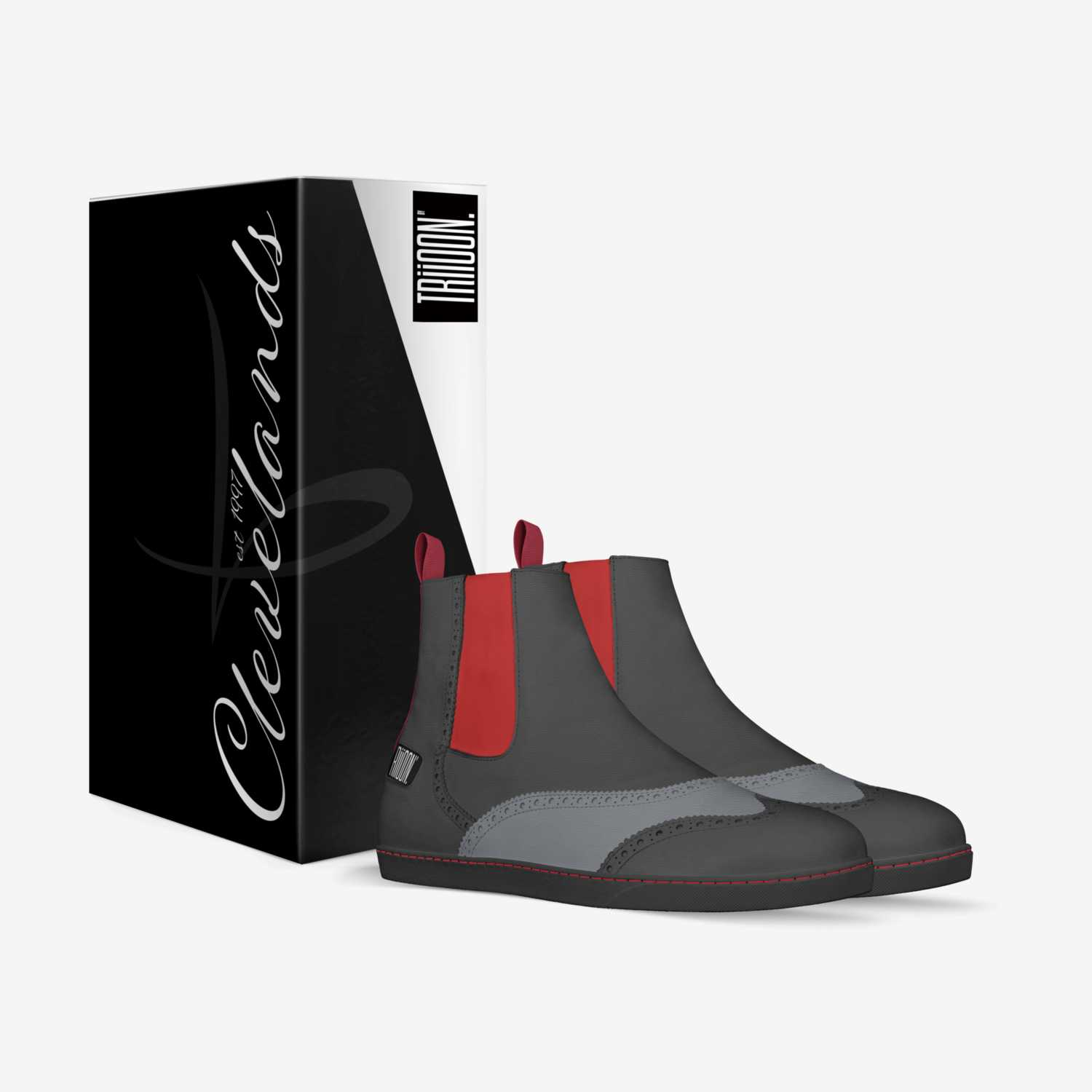 CLEVELANDS custom made in Italy shoes by Patrick Medley | Box view