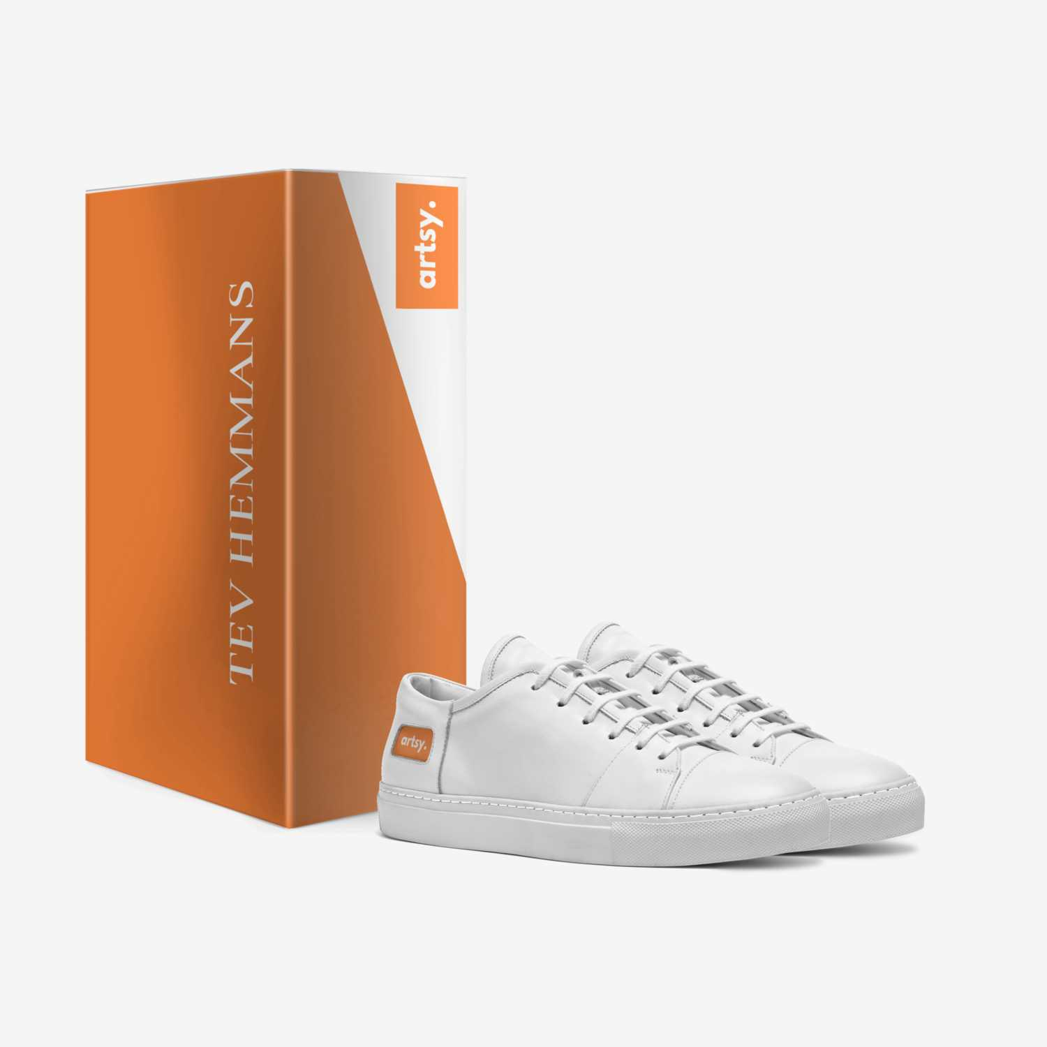 Artsy Classic I custom made in Italy shoes by Tev Hemmans | Box view