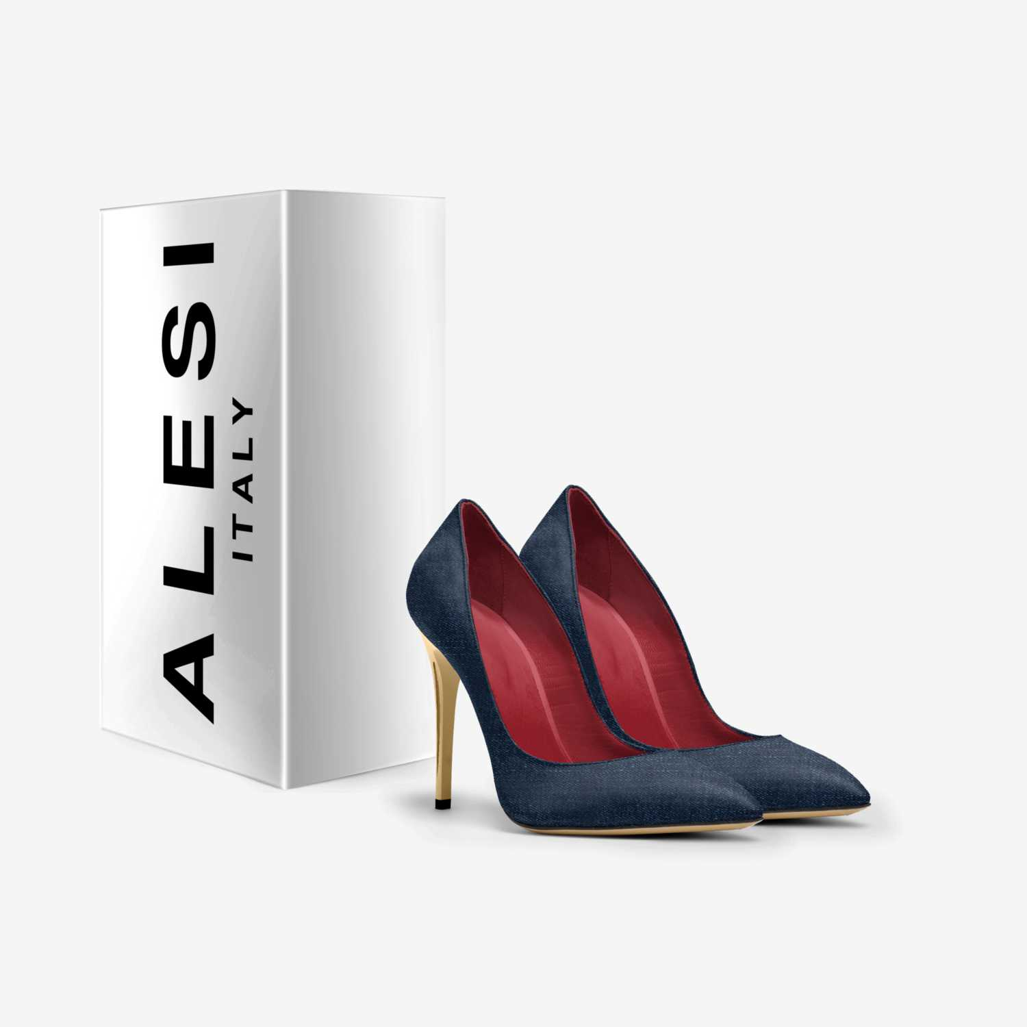 ALESI LUX HEELS custom made in Italy shoes by Lonanthony Parker | Box view