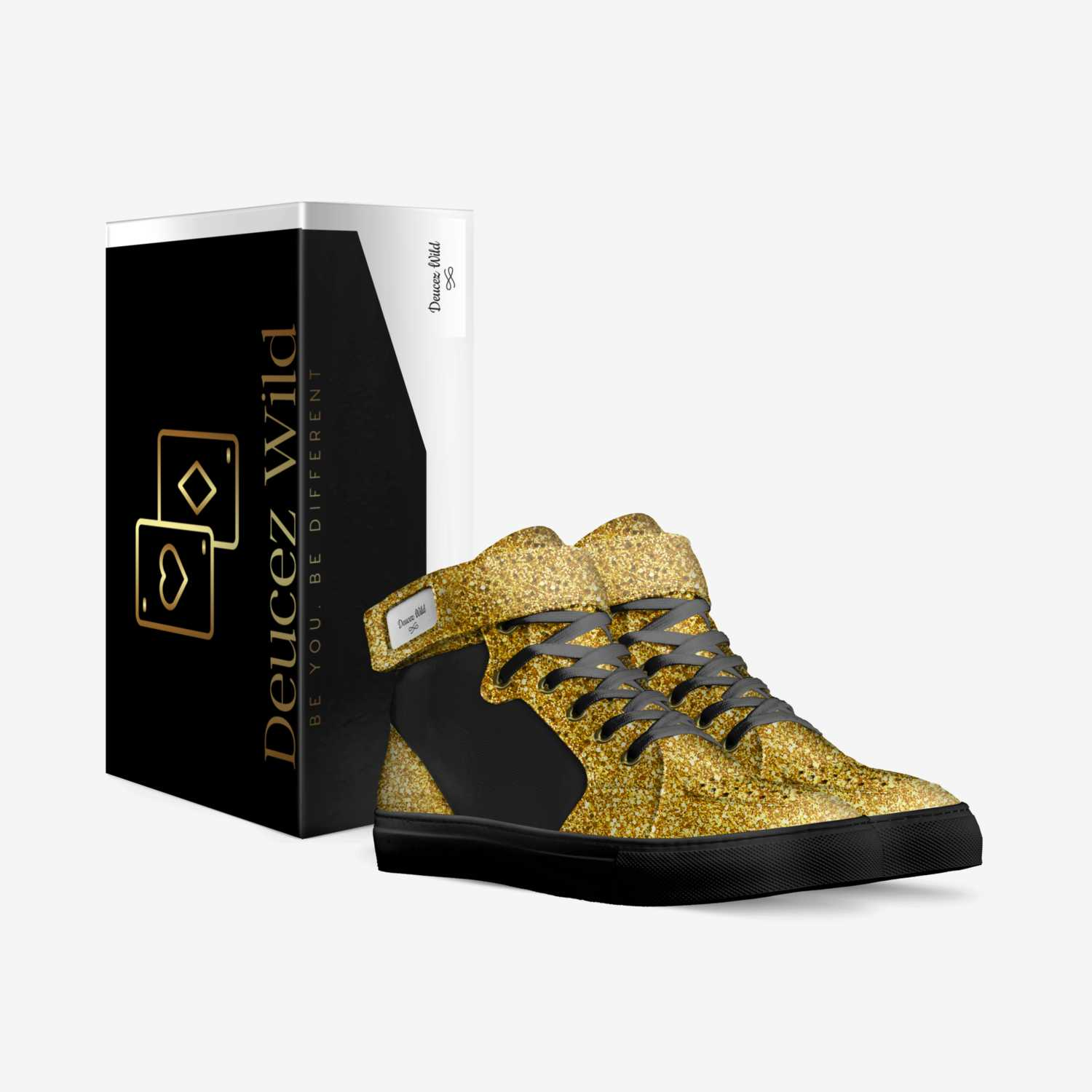 Deucez Wild custom made in Italy shoes by Kenneth Turner Jr | Box view