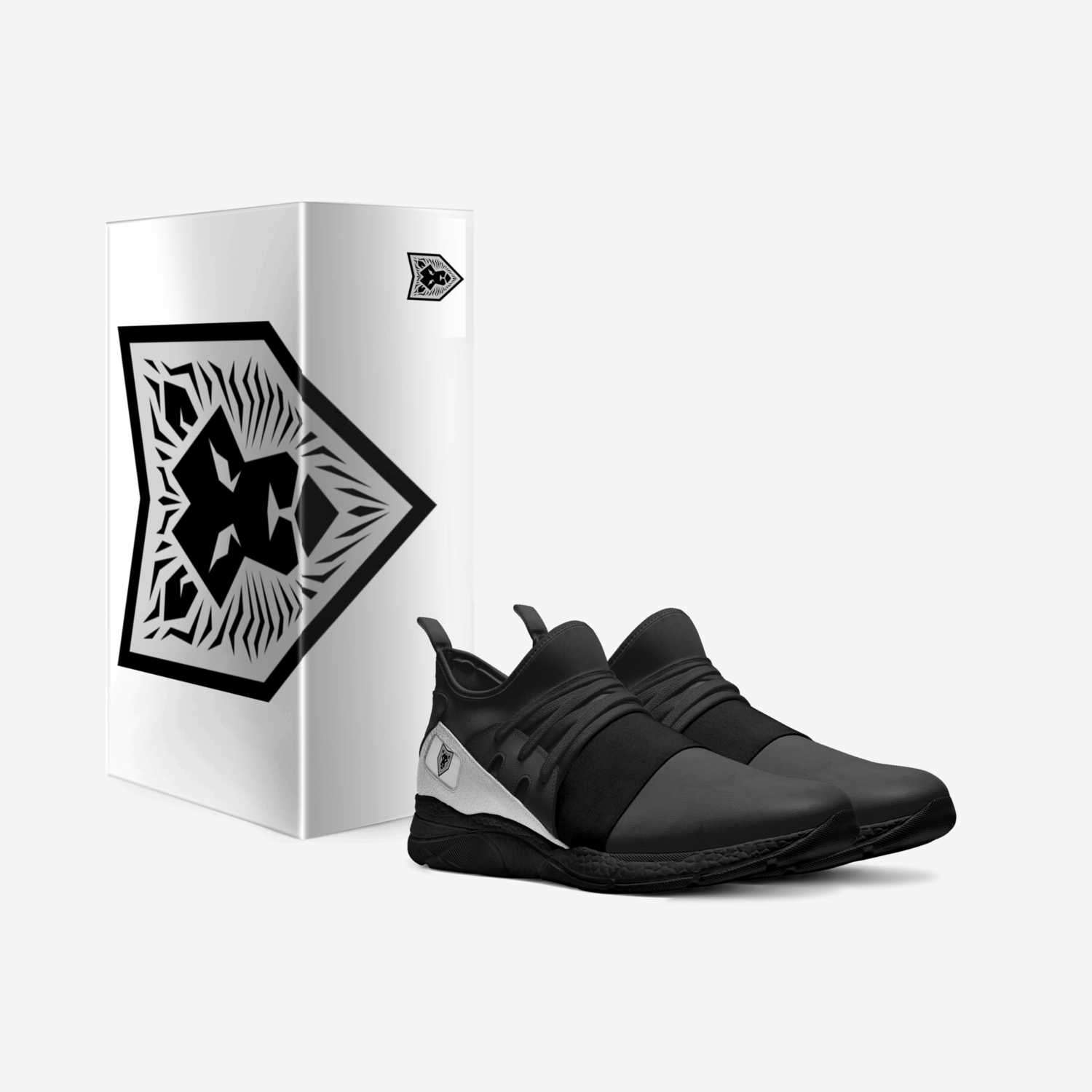 Lion of Judah 82:6 custom made in Italy shoes by Jake Tayler Jacobs | Box view