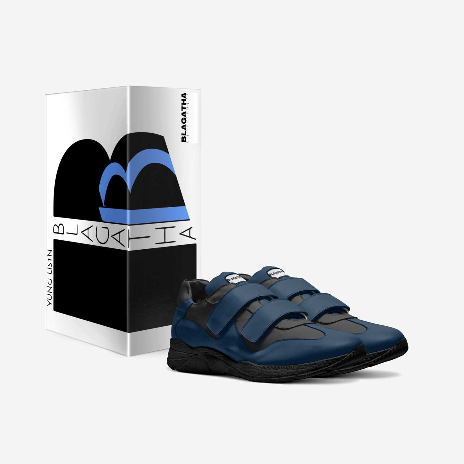 BLAGATHA 2020 custom made in Italy shoes by Yung Listn | Box view