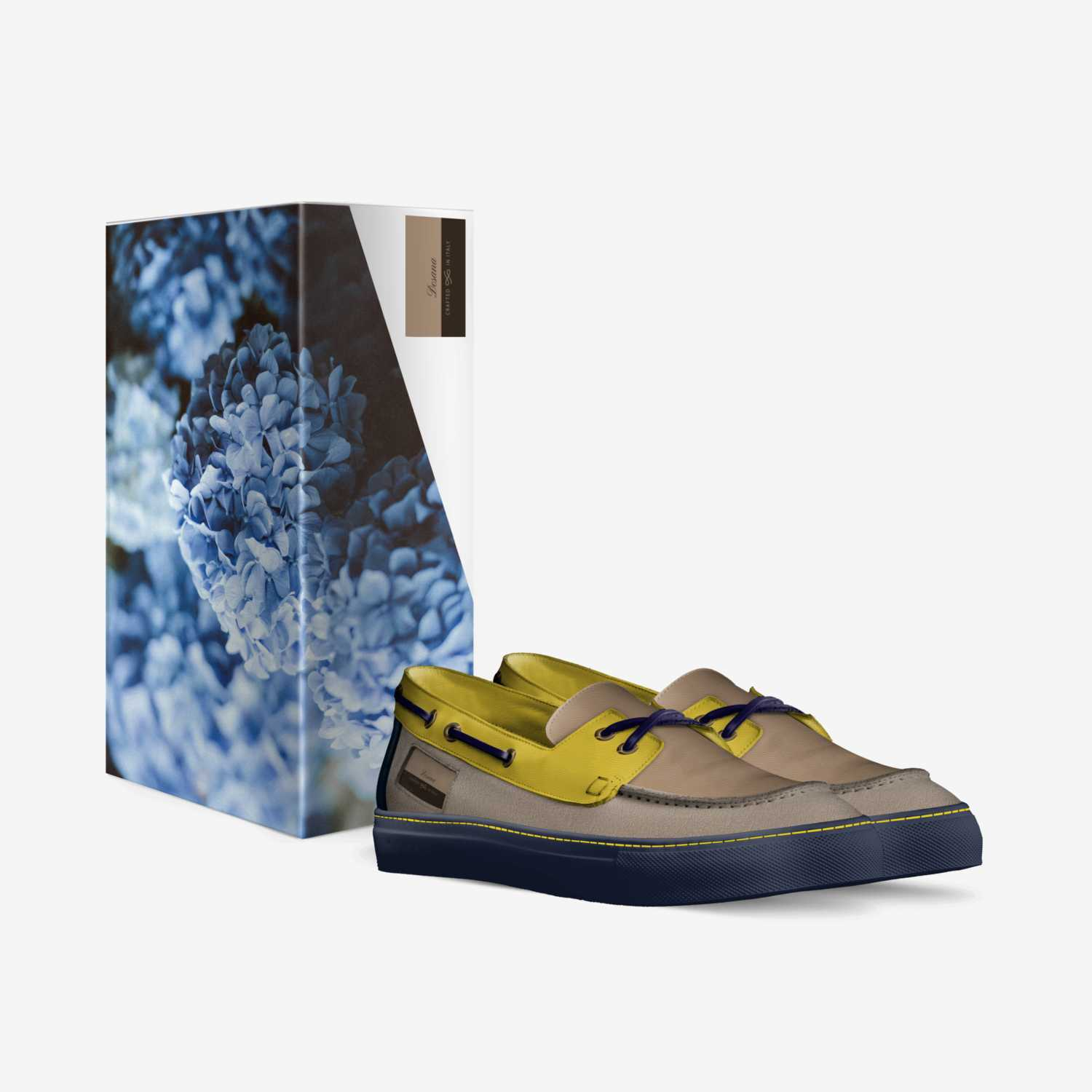 Desana custom made in Italy shoes by Darel Wesley | Box view