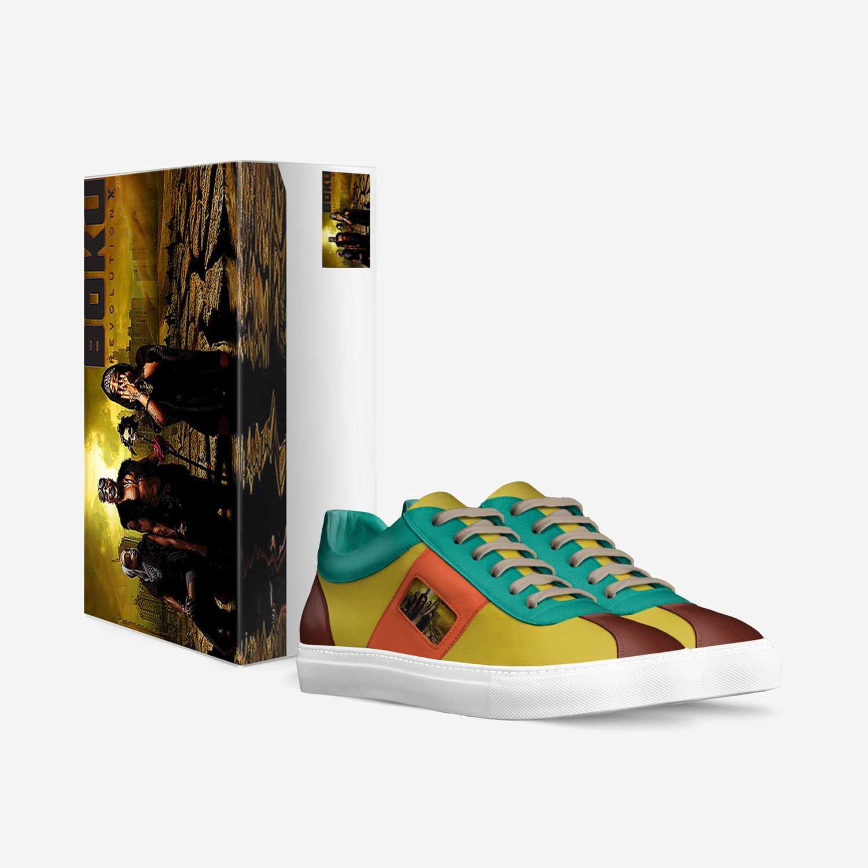 BRX FIELD NINJA custom made in Italy shoes by Jo D. Jonz | Box view