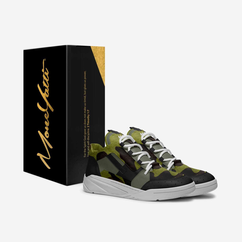 MONEYATTI TURBO 014 custom made in Italy shoes by Moneyatti Brand | Box view